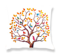 Cushion Cover: Tree of Life (orange)