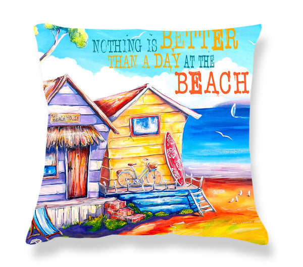 Cushion Cover: Summer Shacks (Text)