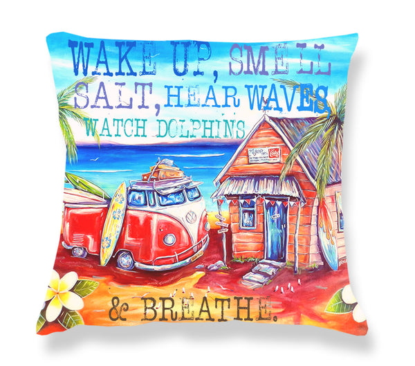 Cushion Cover: Drop Inn (Text)