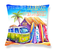 Cushion Cover: Greenie (Text)