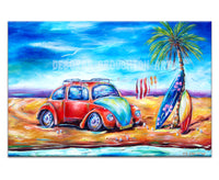 Canvas Print: Beach Bug