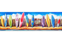 Canvas Print: Byron Bay Surf Hire