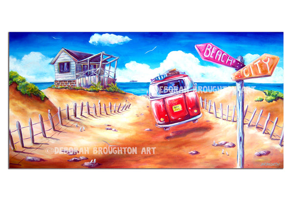 Canvas Print - City to Surf