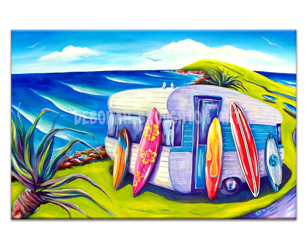 Canvas Print: Surf Van