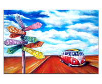 Canvas Print: Road Trip