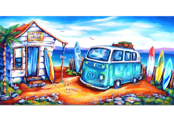 Canvas Print - Surf Cafe
