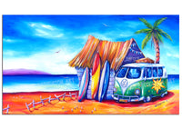 Canvas Print - Surf Club (Panoramic)