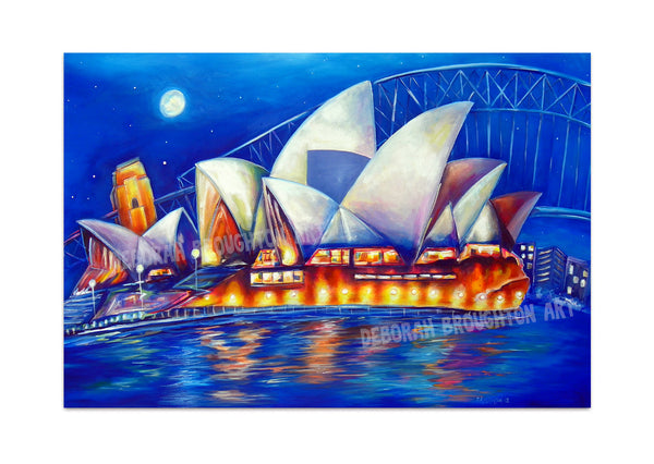 Canvas Print: Sydney Lights