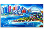 Canvas Print: Sydney Harbour (Panoramic)