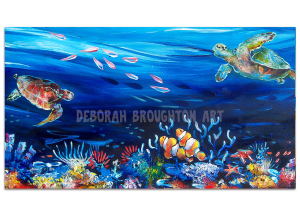 Canvas Print - Reef Magic