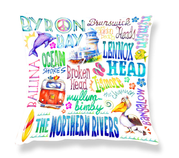 Byron Bay - Cushion Cover