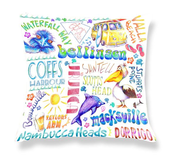 Coffs Harbour Area - Cushion Cover