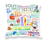 Port Macquarie Area - Cushion Cover