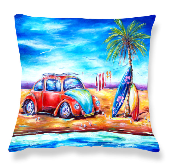 Cushion Cover: Beach Bug