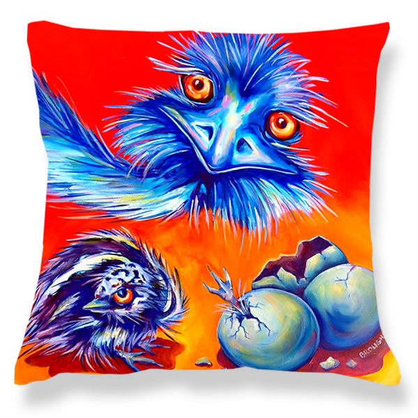 Cushion Cover: Emu