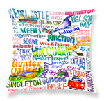 Newcastle & Hunter Valley Area- Cushion Cover