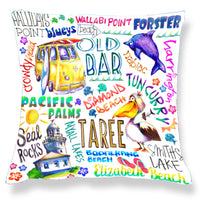 Forster/Taree Area - Cushion Cover