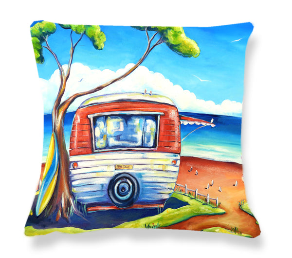 Cushion Cover - Vintage Van