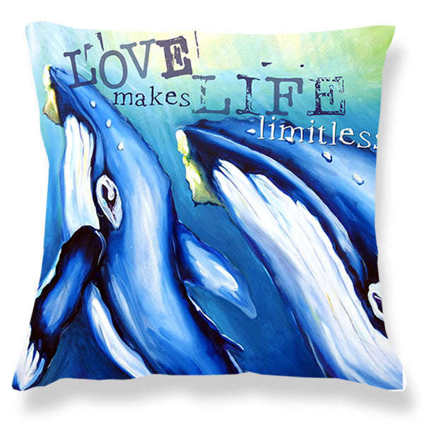 Cushion Cover - Whales