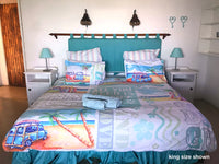 Summer Luvin Quilt Cover - Queen Size