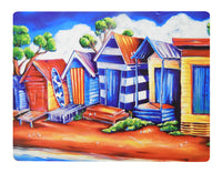 Placemat: Beach Huts