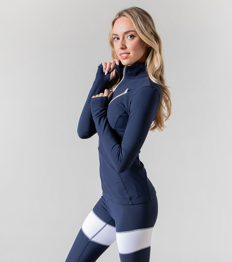 The Heather Rash Guard