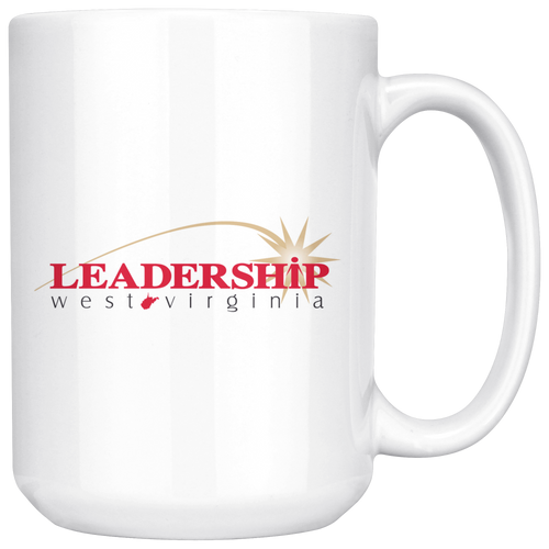 LWV 15oz White C Handle Mug
