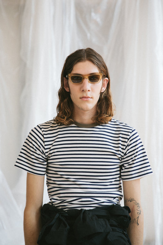 Richmond Tshirt - Navy Stripe
