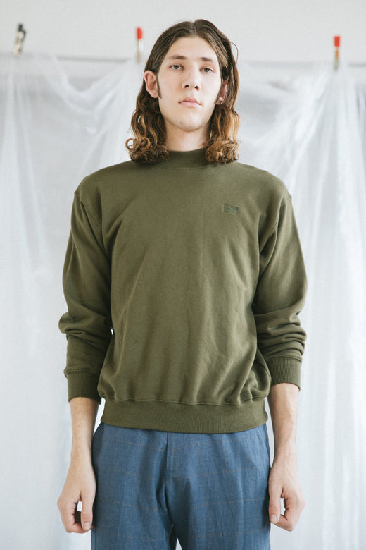 Tulsa Sweatshirt - Army Green