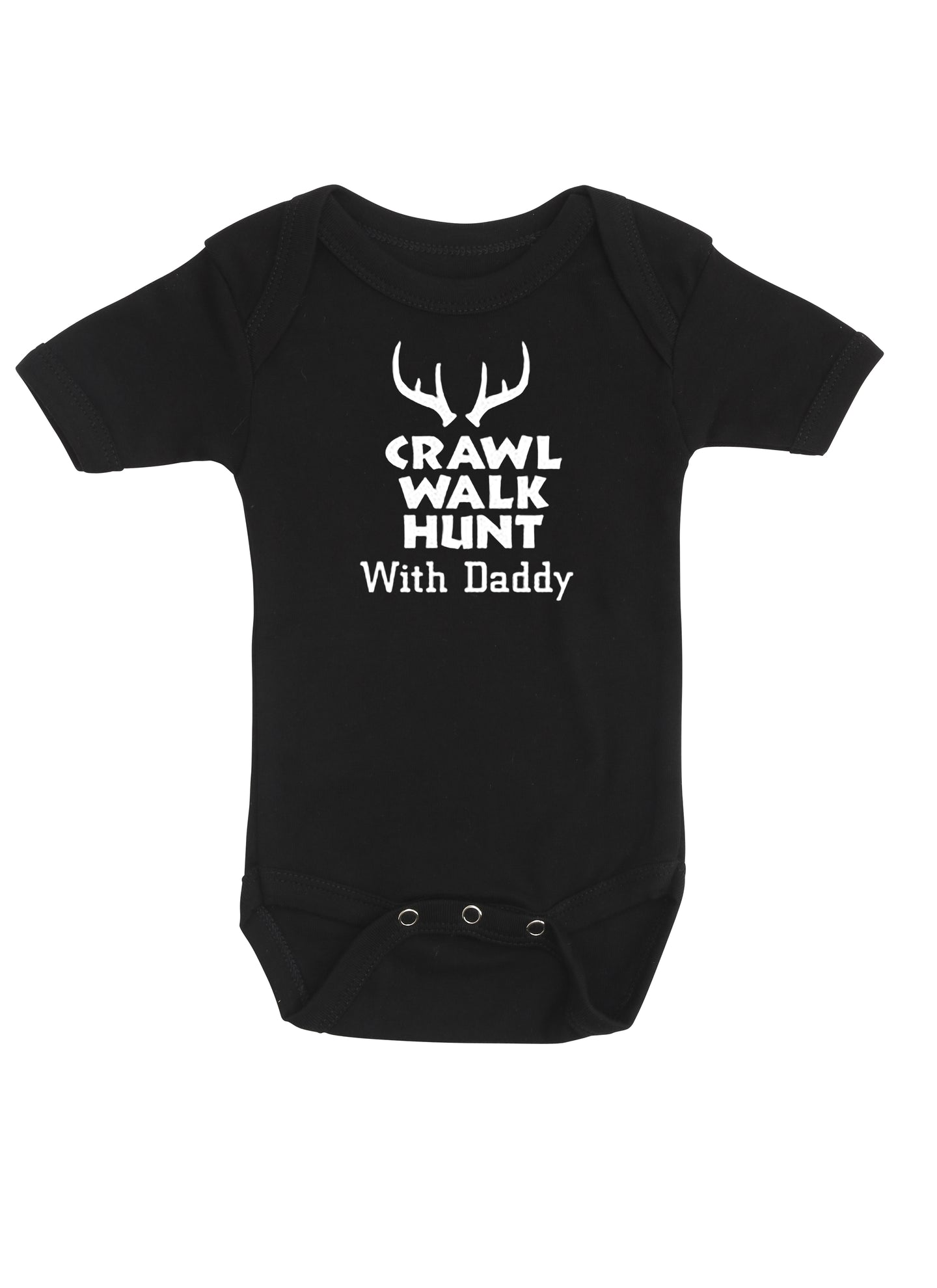 Crawl, walk, hunt with Daddy