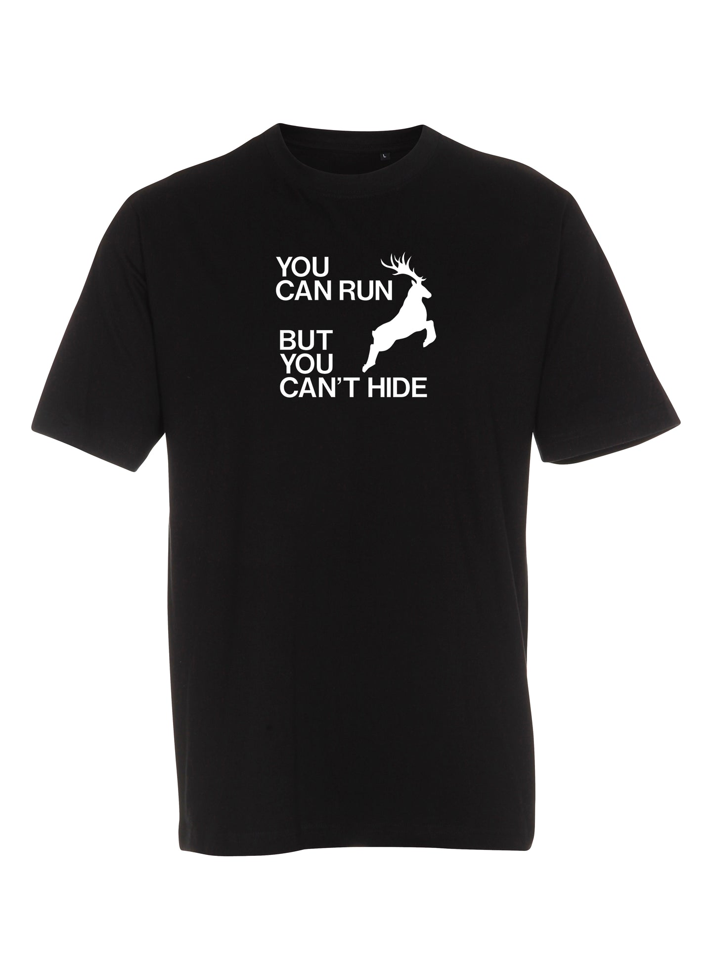 You can run but you can't hide (Børne t-shirt)