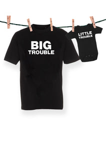 Big trouble & little trouble - (sæt 2 dele)