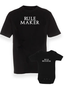 Rule maker & rule breaker