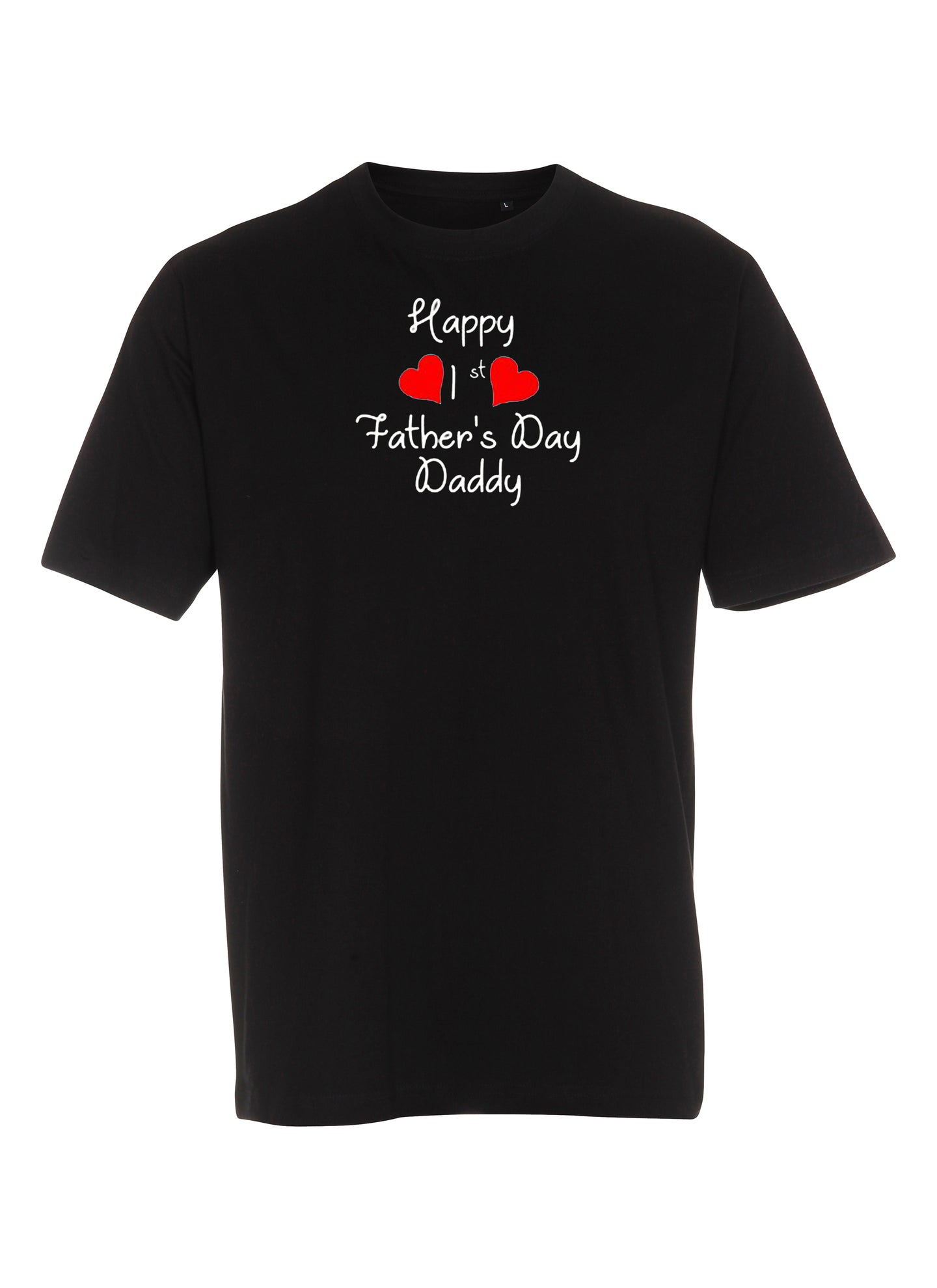 Happy 1st Father's day - Daddy (børne t-shirt)