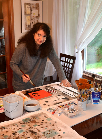 Watercolor Class 4 Weeks with Anita Loomis Sat. 1/12- 2/2 10AM-1PM