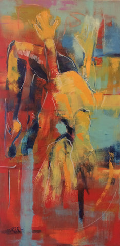 """Figure in Air Series: Color #1"" 