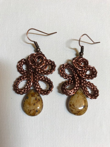 Wire Wrapped Earrings Workshop Saturday 12/22, 1-3:30PM