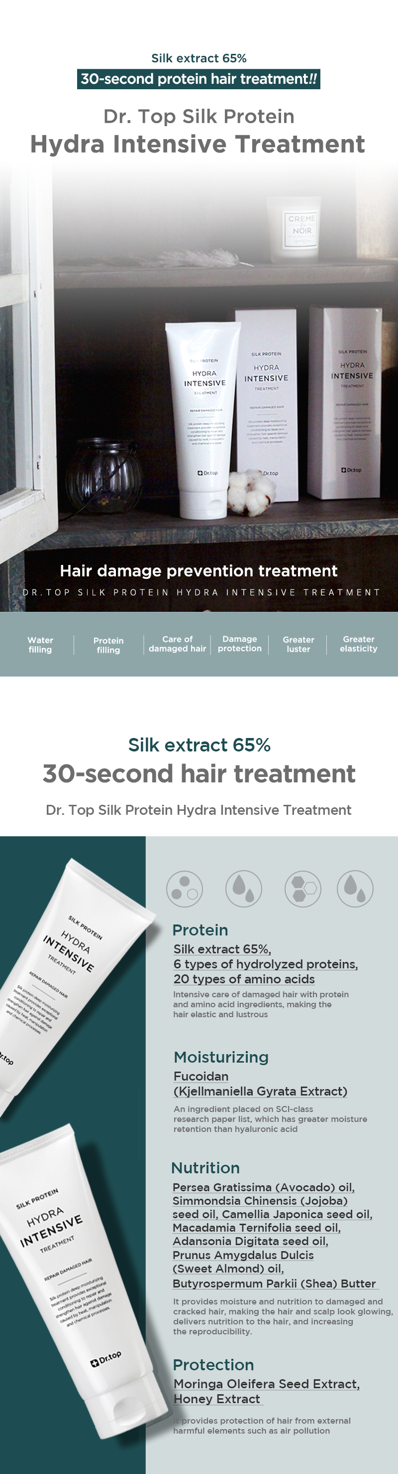 DR. TOP SILK PROTEIN HYDRA INTENSIVE TREATMENT