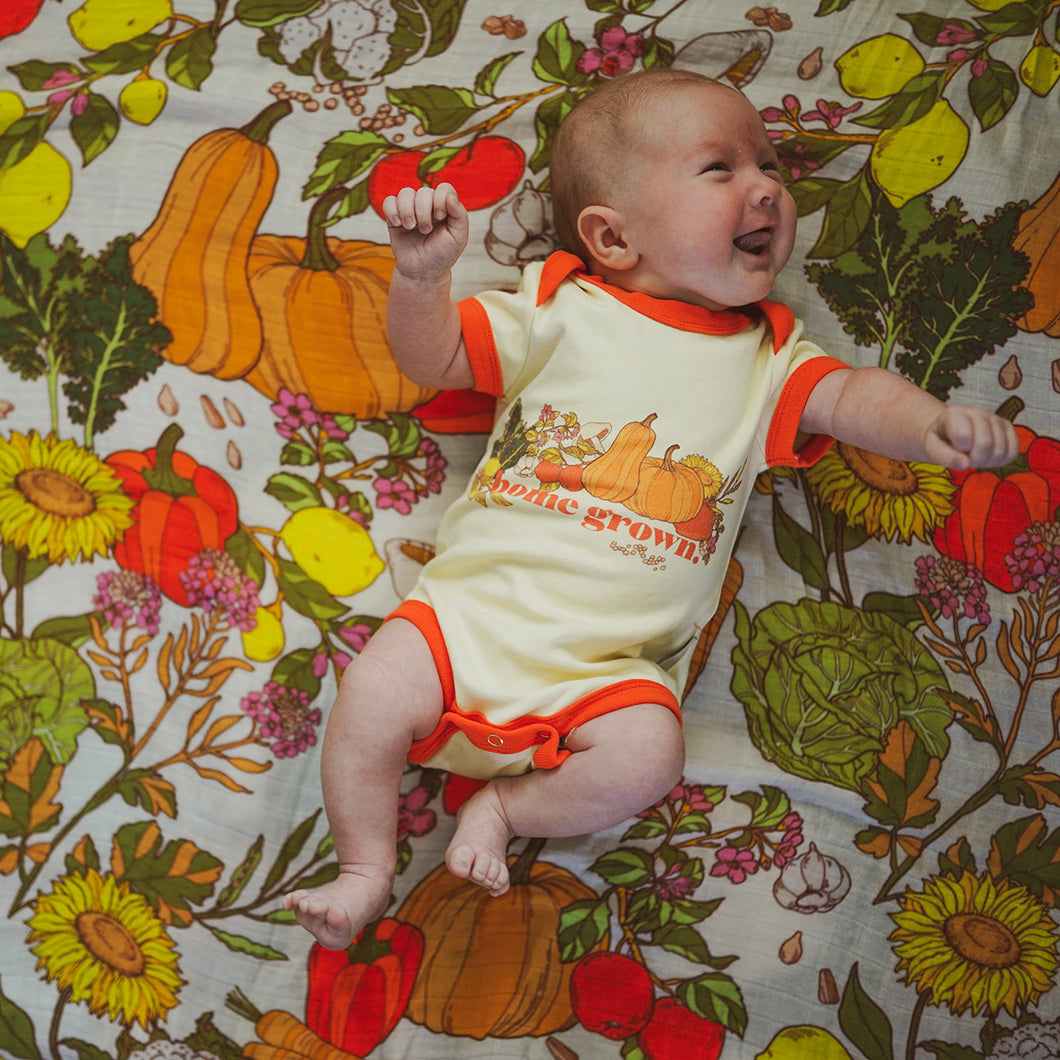 Home Grown Bundle Onesie and Swaddle