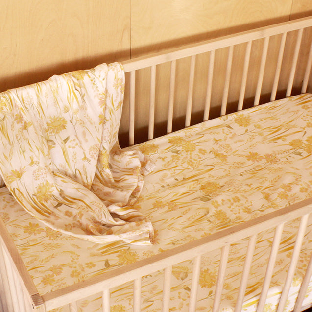 Goldfields Hemp/Organic Cotton Fitted Cot Sheet