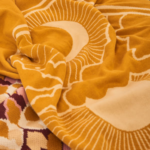 Harvest Moon Reversible Organic Cotton Blankie