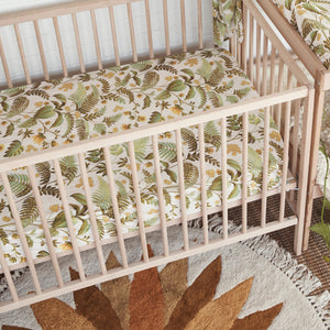 Rainforest Hemp/Organic Cotton Fitted Cot Sheet