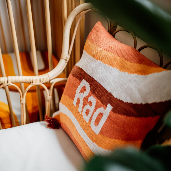 Rad Knit Cushion Cover