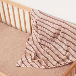 Ghost Gum Stripe Bamboo / Organic Cotton Swaddle