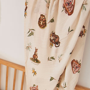 Marsupial Bamboo / Organic Cotton Swaddle