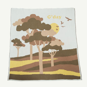 G'day Organic Cotton Blankie