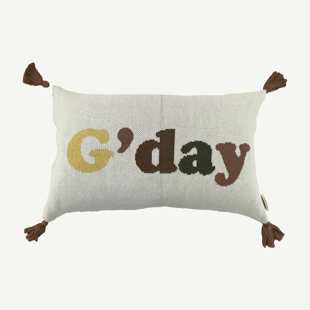 Gday Knit Cushion Cover