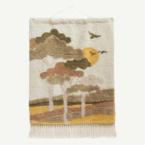 G'day Gum Trees Tufted Wall Hanging
