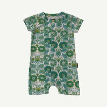 Bella Blue Organic Cotton Snap Through Playsuit