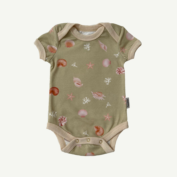 Shell Collector Organic Cotton Onesie